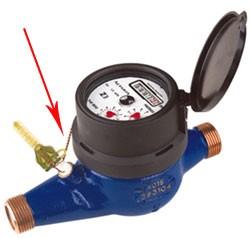 chì niêm phong đồng hồ nước của nhà sản xuất