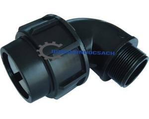 Phụ kiện nối ống HDPE: Cút Ren Ngoài