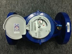 minh họa: đồng hồ nước itron multimag cyble DN50