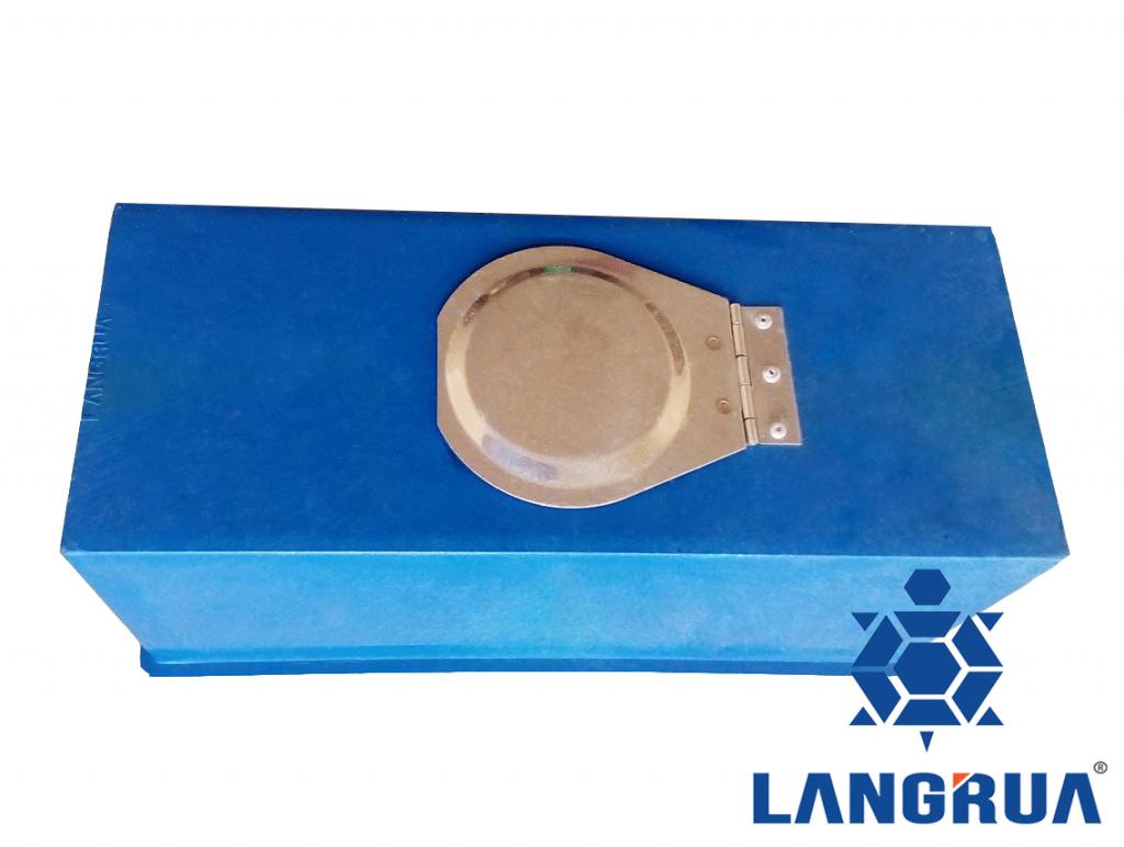 hộp đồng hồ nước thân nhựa nắp inox 1 nắp
